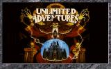 Unlimited Adventures DOS Title screen