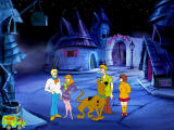 Scooby-Doo!: Phantom of the Knight Windows In the castle courtyard