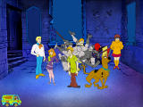 Scooby-Doo!: Phantom of the Knight Windows Meeting Sir Lacksalot underneath a pile of armor
