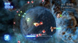 Super Stardust HD PlayStation 3 After you've destroyed enough asteroids, enemy waves appear for you to defeat.