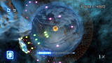 Super Stardust HD PlayStation 3 When the UFO retracts his rockets, he rapid-fires purple bullets across the planet.