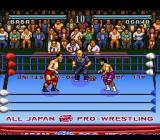 Zen Nippon Pro Wrestling SNES LET'S GET READY TO RUMBLE!