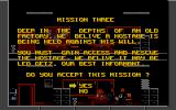 Lethal Weapon Atari ST Mission three briefing.