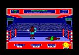 Star Rank Boxing Amstrad CPC In the third round, I knocked my opponent to the ground.