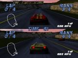 automobili Lamborghini Nintendo 64 2-player race in Arcade mode
