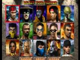 Mortal Kombat 4 Nintendo 64 Player selection