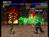 Mortal Kombat 4 Nintendo 64 Quan Chi's Flying Skull move