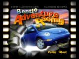 Beetle Adventure Racing! Nintendo 64 Title screen
