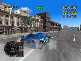 Rally Challenge 2000 Nintendo 64 A race in Arcade mode