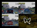 Rally Challenge 2000 Nintendo 64 3-player race