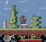 Toonsylvania Game Boy Color Don't leave the game idle too long...