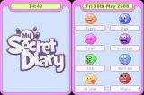My Secret Diary Nintendo DS Mood selection screen