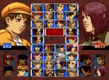 The King of Fighters '99: Millennium Battle Neo Geo CD Character selection