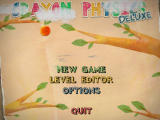 Crayon Physics Deluxe Windows Main menu