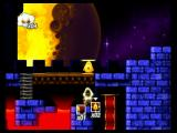 Toki Tori Wii Teleporting under a fell moon.