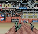Supercross Freestyle Game Boy Color Rudy ol' Briton