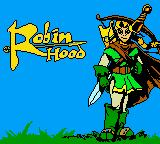 Robin Hood Game Boy Color Title screen