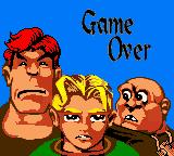 Robin Hood Game Boy Color Game over :(
