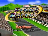Penny Racers Nintendo 64 Title screen