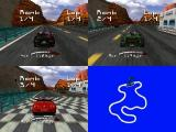 Roadsters Nintendo 64 3-player race