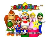 Mario Party Nintendo 64 Title screen