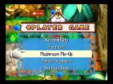 Mario Party Nintendo 64 ...a random mini game is selected.