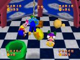 Mario Party Nintendo 64 The Crane mini-game
