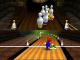 Mario Party Nintendo 64 A bowling-like mini game