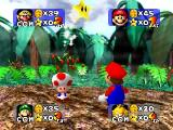 Mario Party Nintendo 64 Earning a star.