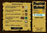 Phantom Mansion II: Treasures of the Seven Seas - The North Sea Browser Instructions