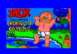 Jack the Nipper... II in Coconut Capers Amstrad CPC Loading screen