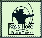 Robin Hood: Prince of Thieves Game Boy Title screen