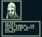 Robin Hood: Prince of Thieves Game Boy Well! A torturer can at least be courteous!