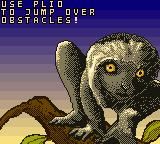 Disney's Dinosaur Game Boy Color Lemur skillz