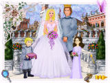 Barbie as Princess Bride Windows Customizing the frame and background for the wedding photo
