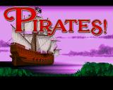 Sid Meier's Pirates! Amiga Title screen