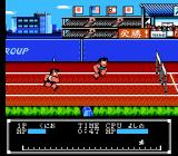 Crash 'N the Boys: Street Challenge NES 400 meter Hurdles in the Japanese version