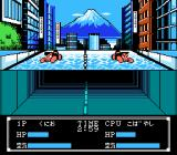 Crash 'N the Boys: Street Challenge NES Swimming in the Japanese version