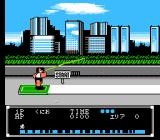 Crash 'N the Boys: Street Challenge NES Roof Top Jumping in the Japanese version