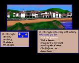 Sid Meier's Pirates! Amiga Starting in a French town