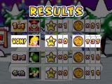 Mario Party 3 Nintendo 64 Results after playing a mini-game.