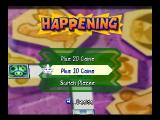 Mario Party 3 Nintendo 64 Donkey Kong stepping on a Happening square.