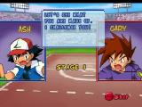 Pokémon Puzzle League Nintendo 64 Dialogue between Ash and Gary