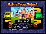 Bomberman 64: The Second Attack Nintendo 64 Battle Mode's Survival game