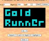 Gold Runner Browser Title screen