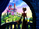 Barbie as Rapunzel: A Creative Adventure Windows Gothel is angry she wasn't invited and casts a spell on the castle.