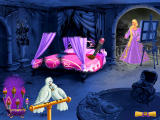 Barbie as Rapunzel: A Creative Adventure Windows Restoring the bedroom.
