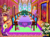 Barbie as Rapunzel: A Creative Adventure Windows The dining room has been restored.