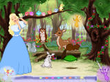 Barbie as Sleeping Beauty Windows Wake up the woodland creatures to invite them to the birthday party; each needs a distinct wakeup call melody