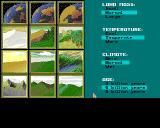 Sid Meier's Civilization Amiga Customizing world